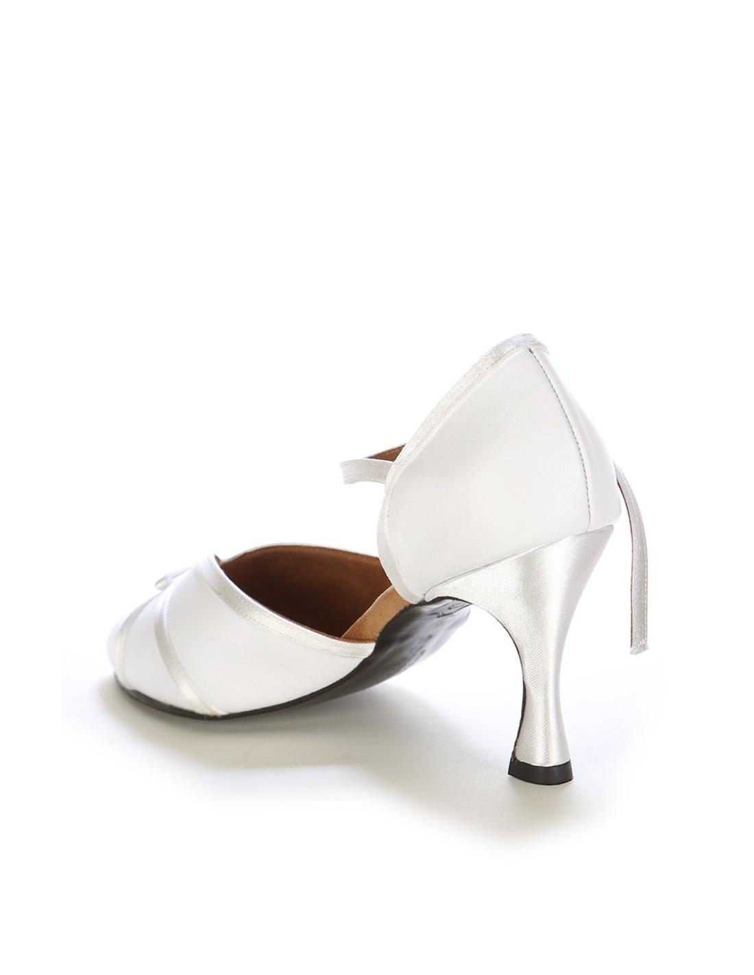 Chaussures de danse de salon satin noir l gantes - Nom de danse de salon ...