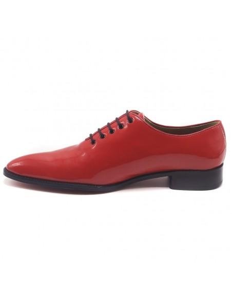 Chaussures danse satin tan ou noir à lanières