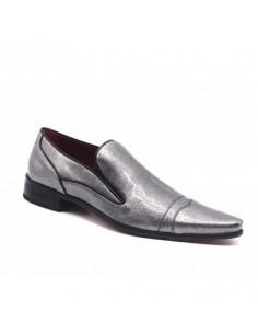 Chaussures danse salon satin noir élégantes