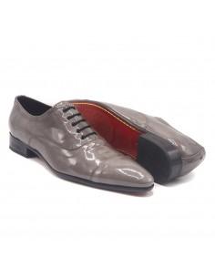 Chaussures danse salon satin cuivre élégantes