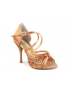Bottes de chasse cuir marron brides