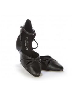 Boots santiags rock homme cuir noir talon acier