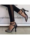 Chaussures ville homme cuir noir boucles acier élégantes